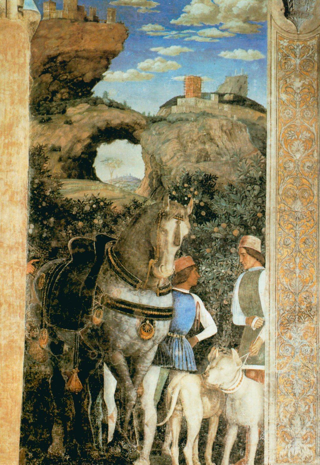 068 andrea mantegna la chambre des for La chambre de giovanni